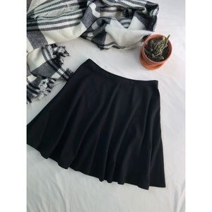 Black LC Lauren Conrad Skater Skirt